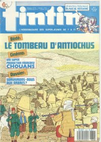 Journal de TINTIN �dition Fran�aise N� 658 du 19 Avril 1988