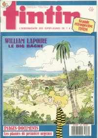 Journal de TINTIN �dition Fran�aise N� 659 du 26 Avril 1988