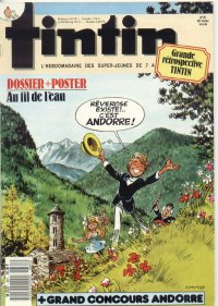 Journal de TINTIN �dition Fran�aise N� 661 du 10 Mai 1988