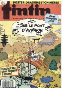 Journal de TINTIN �dition Fran�aise N� 662 du 17 Mai 1988