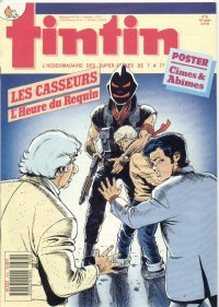 Journal de TINTIN �dition Fran�aise N� 676 du 23 Ao�t 1988