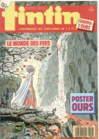 Journal de TINTIN �dition Fran�aise N� 687 du 8 Novembre 1988