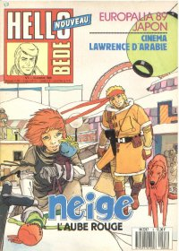 Journal Hello Bédé N° 3 du 10 Octobre 1989