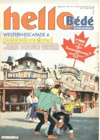 Journal Hello B�d� N� 33 du 8 Mai 1990