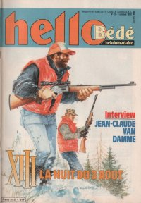 Journal Hello Bédé N° 55 du 9 Octobre 1990