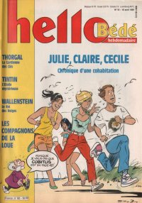 Journal Hello Bédé N° 82 du 16 Avril 1991