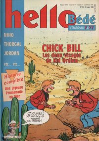 Journal Hello B�d� N� 129 du 10 Mars 1992