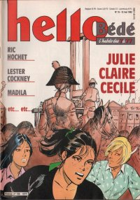 Journal Hello Bédé N° 138 du 12 Mai 1992