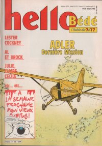 Journal Hello Bédé N° 144 du 23 Juin 1992