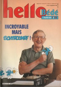 Journal Hello Bédé N° 157 du 22 Septembre 1992